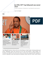 Ajay Singh Negi is New CM of UP_ Yogi Adityanath Was Named Ajay Before Being Mahant - India