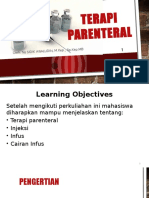 l3 Terapi Parenteral_fkg_sidik Awaludin