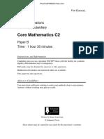 Solomon B QP - C2 Edexcel.pdf