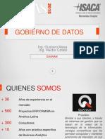 CIGRAS 2015.09.09 03 Gobierno de Datos Gustavo Mesa Hector Cotelo