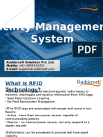 UHF RFID Based Facility Management System