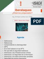 CIGRAS 2015.09.10 09 Ciberataques Estamos Preparados Enrique Larrieu Let
