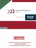 CIGRAS-El Desafio de Gestionar La Diversidad Generacional en Uruguay-Beatriz Martinez