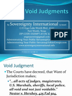 Void Judgments