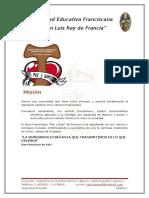 a. Misión (P.E.I)
