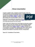ANSYS Stress Linearization