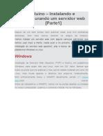 Arduino – Instalando e Configurando Um Servidor Web