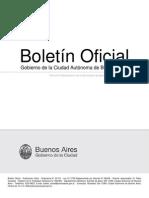 Reglamentación Ley de Consorcios de la Ciudad de Bs. As. - Boletín Oficial