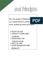 National Principles
