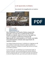 La Conferencia de Aparecida y La Misión Continental