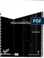 Quantitative Techniques - 6th Ed. by T Lucey