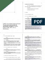UFPR - Normas Para Referências - 2007
