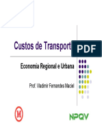 Custos Transportes