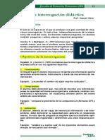 interrogación didactica revista
