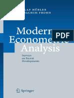 Modern Econometric Analysis