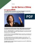 Datafolha dá Serra e Dilma empatados