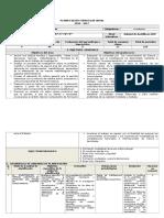 Planificación Curricular Anual de Investgacion