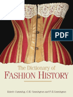 The dictionary of fashion history
