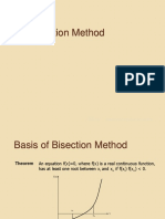 4 Bisection Method