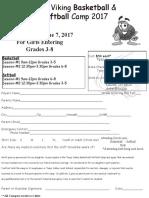 2017 summer camp flyer