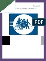 Personas Con Discapacidad en La Empresa