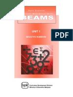BEAMS_Unit 1 Negative Numbers