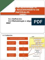 Unidad_aprendizaje_ 6. Plan de Requerimiento de Materiales (MRP)