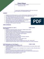 Jobswire.com Resume of PEDRODOMINIC