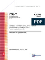 T REC X.1205 200804 I!!PDF E Overview of Cybersecurity