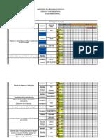 Cronograma General Modificado