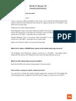 FAQs3C