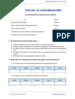 Elementos de La Comunicación 2º ESO