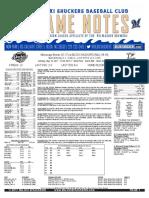 5.16.17 vs. MIS Game Notes