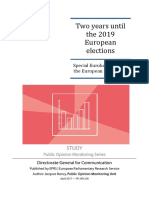 Two years until the 2019 European elections