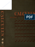 Calculus by Michael Spivak - 1967