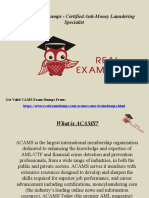 Download ACAMS CAMS Exam Dumps - Valid CAMS Dumps PDF RealExamDumps