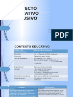 PROYECTO EDUCATIVO INCLUSIVO