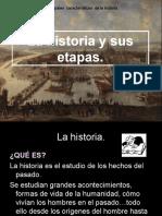 00 La Historia y Sus Etapas1