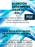 Edl Sector Publico