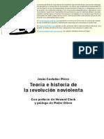 Teoria e Historia de La Revolucion Noviolenta
