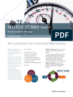 Simatic It r and d Suite
