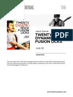 Jz Dynrockfusion Lick12 Tab