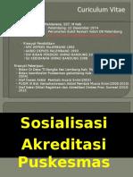 Sosialisasi Akreditasi FKTP