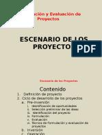 1 Escenarios de Proyectos