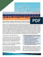 Solar Farm Earthing Design_3pg Brochure A