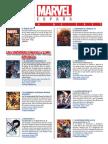 Catalogo Marvel Julio