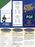 Lesson Brochure