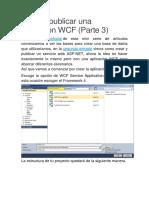 Crear y Publicar Una Aplicación WCF