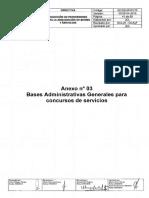 Bases Generales Servicios