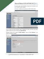 Manual Alfa Aip-w610h